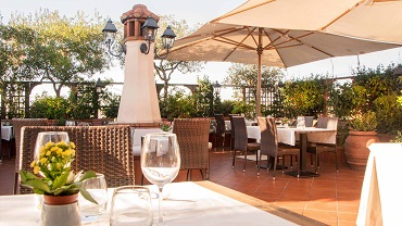 Hotel Diana Roof Garden L Uliveto Roma D Appollonio Photography 1